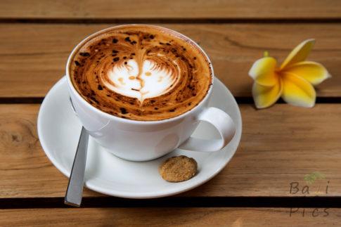 Cappuccino in Bali