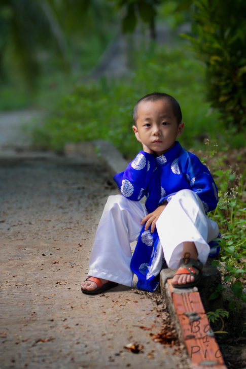 Child Ao Dai - Vietnam