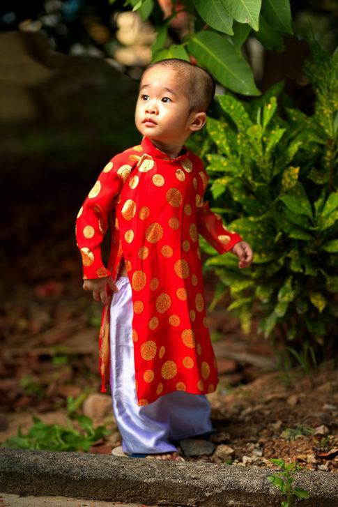 Kid Ao Dai - Vietnam