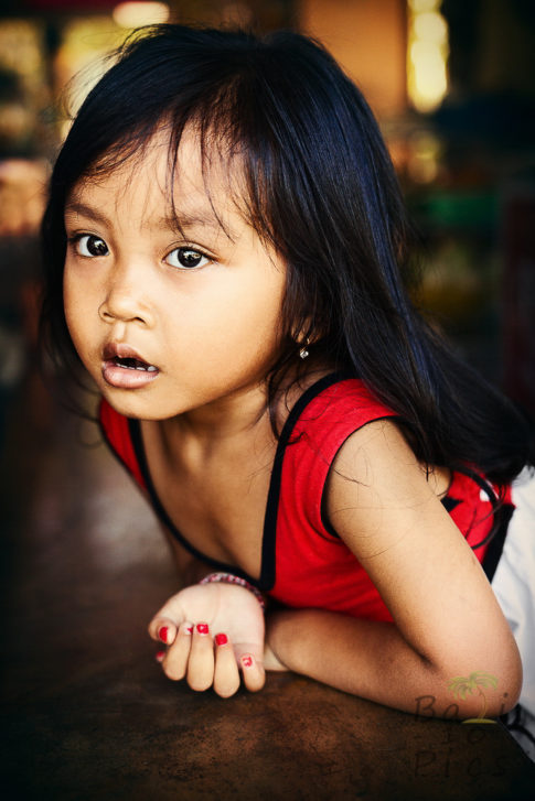 Kid in Bali