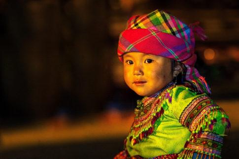 Kid in Vietnam