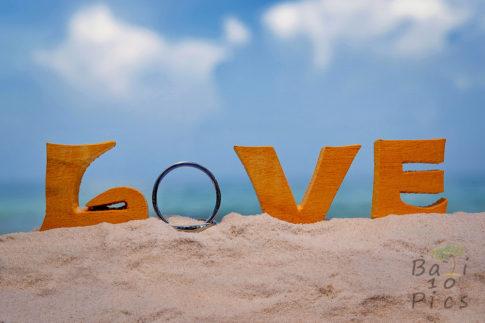 Wedding rings - love