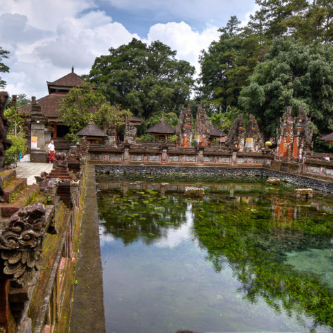 One of many beautiful temples on Bali Island - Tirta Empul Temple