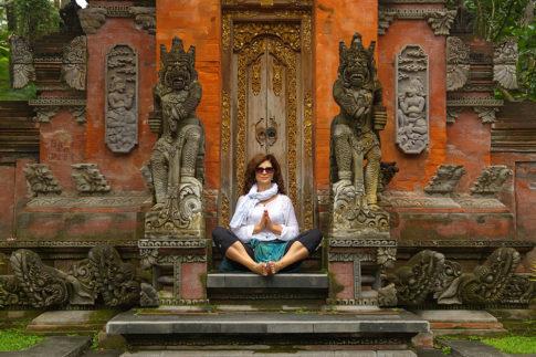 Yoga in Bali - Tirta Empul