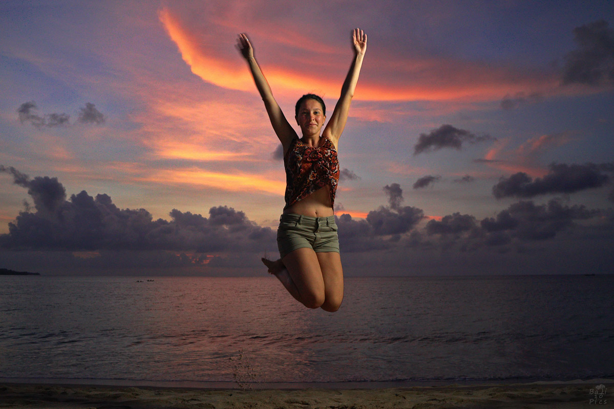 Фотограф под наем - фотосесия на Бали - Jimbaran Beach - снимка 7