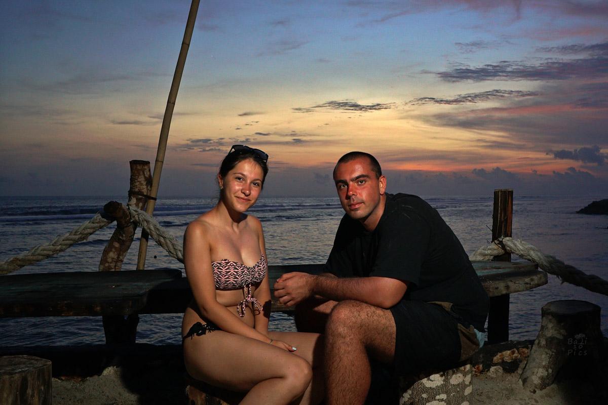 Фотограф под наем - фотосесия на Бали - melasti beach - снимка 2
