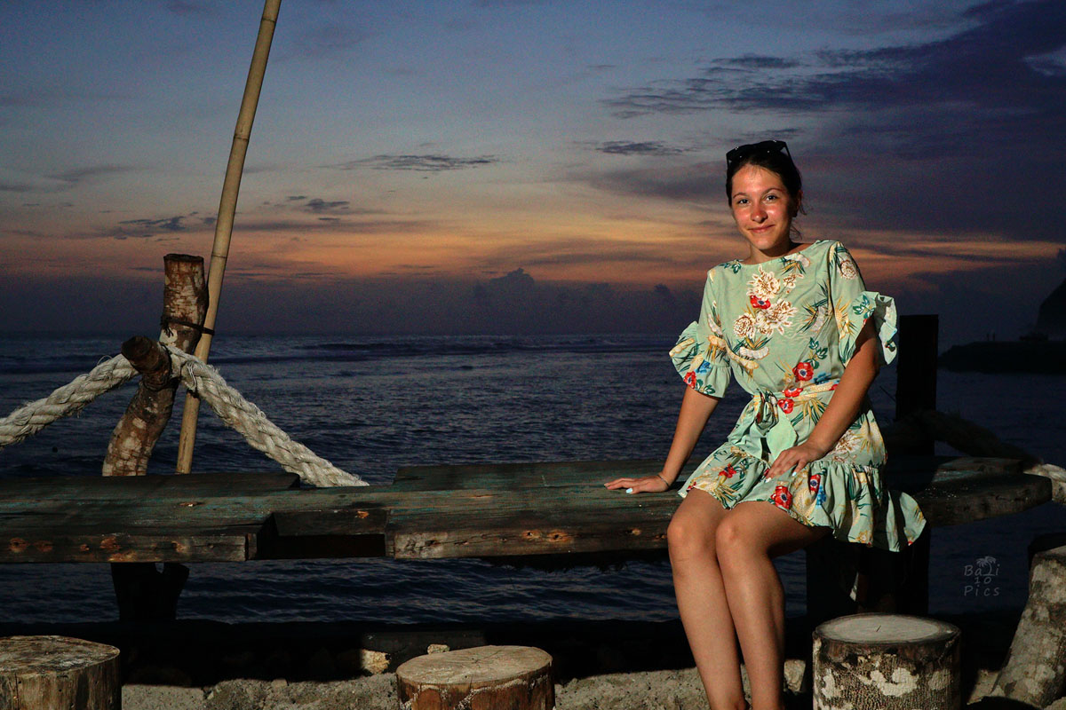 Фотограф под наем - фотосесия на Бали - melasti beach - снимка 4