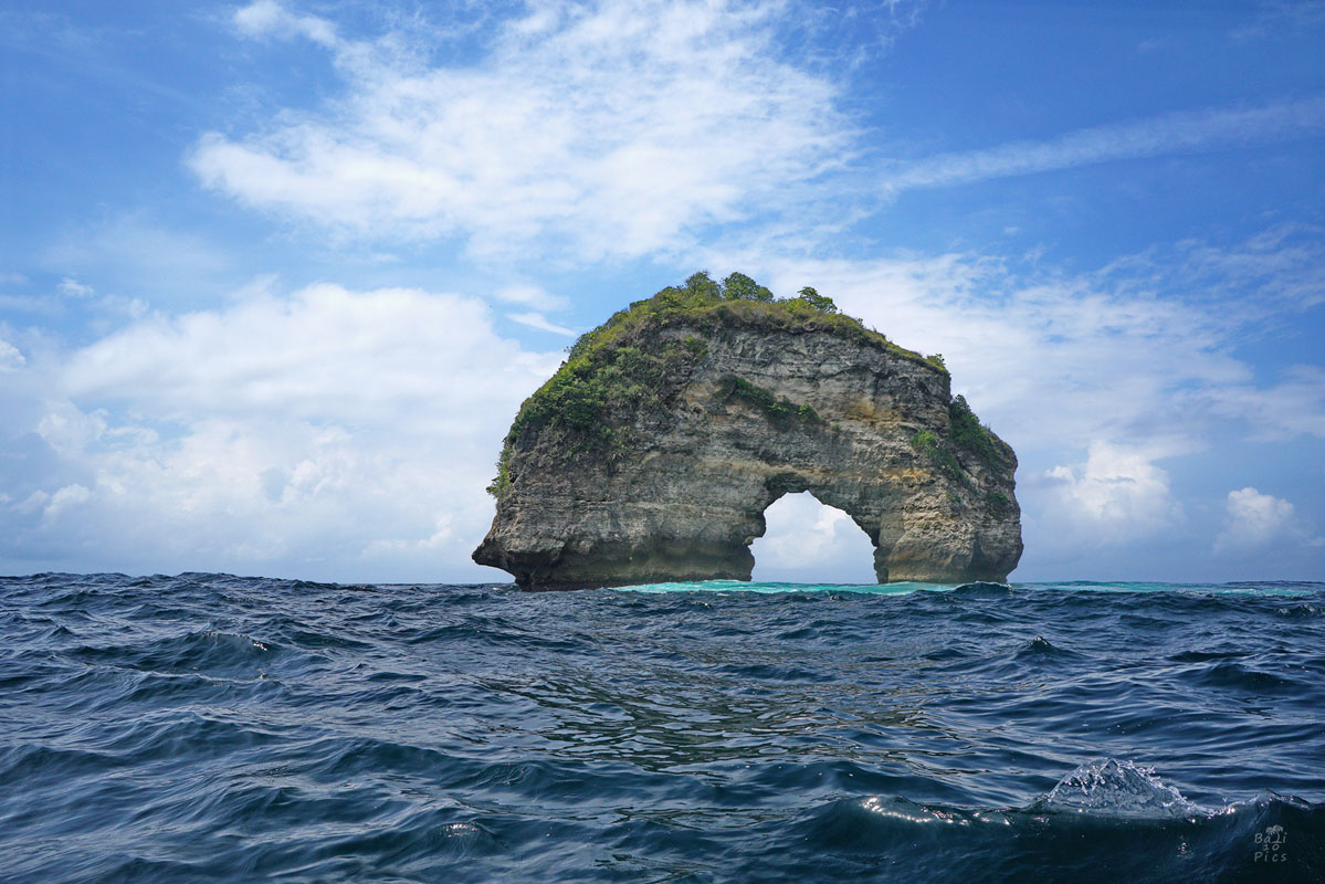 The Elephant rock Nusa Penida