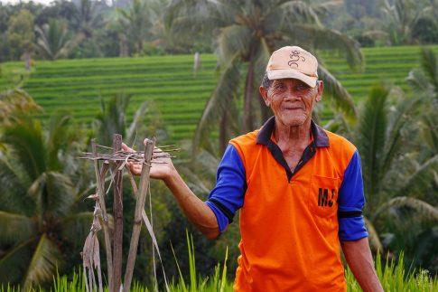 Портрет на балиец - остров Бали