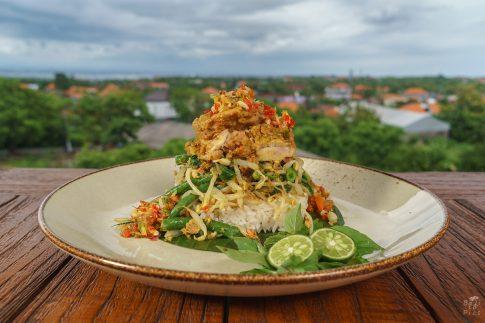Кулинарна фотография - традиционно ястие от Бали
