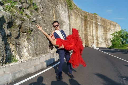 Сватба на остров Бали - Melasti beach