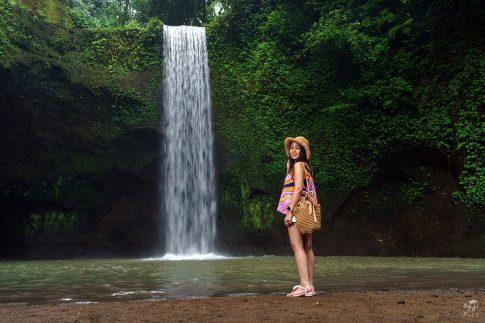 Водопад на Бали - Tibumana waterfall