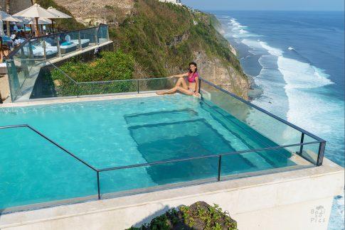 The Edge, Bali - infinity pool